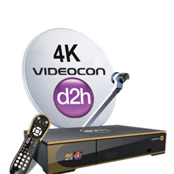 Videocon D2h 4K HD Set Top Box