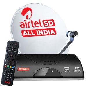 Airtel Digital Tv SD Recorder Connection With 1 Month Free Diwali Offer